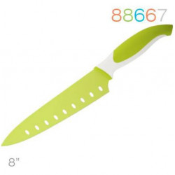 Нож 20см поварской зеленый Granchio 88667