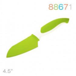 Нож Granchio сантоку зеленый 88671