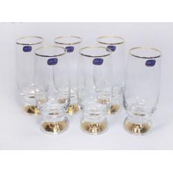 Набор бокалов для пива 6 шт - 350 мл Bohemia Gina (M8606)