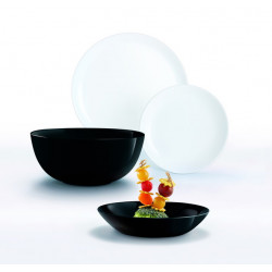 Сервиз столовый 19 пр Luminarc Diwali Black&White P4360