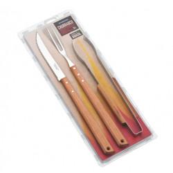 Набор приборов для гриля 3 пр Tramontina Barbecue 26499/045