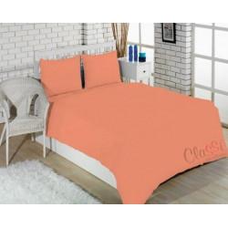 Постельное белье полуторное Classi Arya Colorful светло-персиковый
