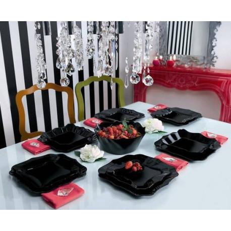 Luminarc Authentic Black Сервиз столовый 19пр e6196
