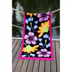 Полотенце пляжное 75х150 Lotus - Grace велюр