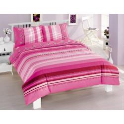 Постельное белье полуторное Altinbasak - Elisa розовый