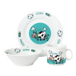 Детский набор 3пр Limited Edition Cow D1215