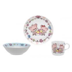 Детский набор 3пр Limited Edition Happy Cats C551