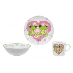 Детский набор 3пр Limited Edition Happy Frogs C556