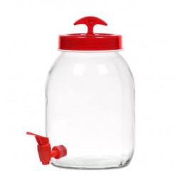 Диспенсер для напитков 3 л Herevin vega red 137060-001