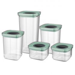 Набор контейнеров со смарт-системой хранения Berghoff LEO 5 шт 3950129