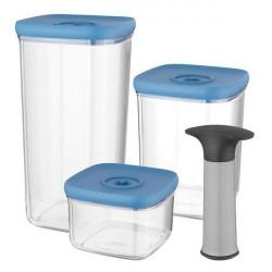 Набор контейнеров с вакуумной системой хранения Berghoff LEO 4 предмета 3950128