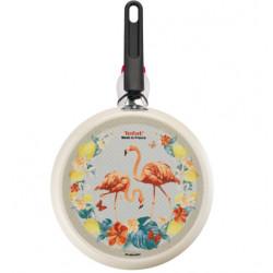 Сковорода для блинов 25 см Tefal Graphics Фламинго B6719042