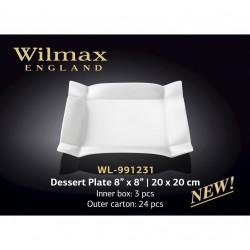 Тарелка десертная Wilmax 20x20см WL-991231
