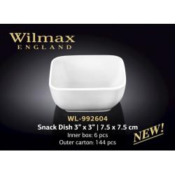 Емкость для закусок 7,5x7,5см Wilmax WL-992604