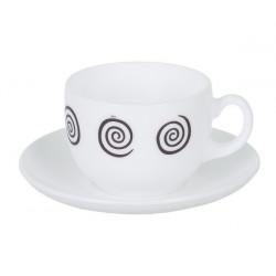 Сервиз чайный 12 предметов Luminarc Essence Sirocco Brown P6890