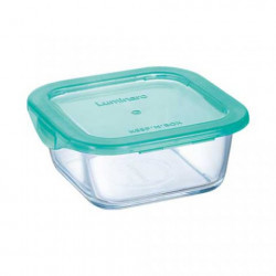 Емкость для еды квадратная 380мл Luminarс Keep'n'Box P5522