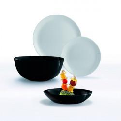 Сервиз столовый 19 предметов Luminarc Diwali Black&Granit P4358
