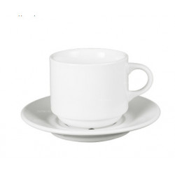 Чашка чайная с блюдцем 210 мл Apulum Nest