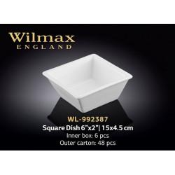 Емкость для закусок 11x11х4,5см  Wilmax WL-992387
