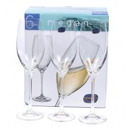 Набор бокалов для шампанского 230мл/6шт Bohemia Megan b40856
