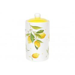 Банка керамическая 1л BonaDi Сочные лимоны