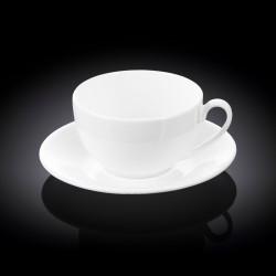 Чашка с блюдцем чайная 400мл Wilmax WL-993191 / AB