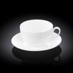 Чашка с блюдцем чайная 300мл Wilmax WL-993190 / AB