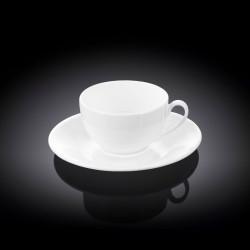 Чашка с блюдцем кофейная 80мл Wilmax WL-993187 / AB