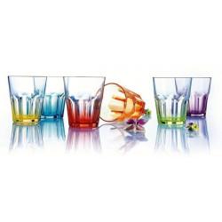 Набор стаканов 6шт/300мл Luminarc Crazy Colors H8299