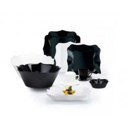 Сервиз столовый 38 предметов Luminarc Authentic Black & White P4677