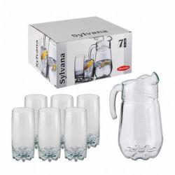 Набор для воды 7 предметов Сильвана Pasabahce 97875