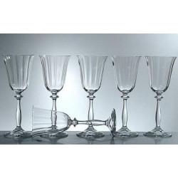 Набор бокалов для вина 285мл/6шт Bohemia Аngelа Optic