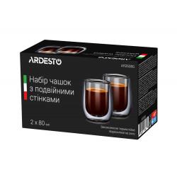 Набор чашек для эспрессо 800мл/2шт Ardesto AR2608G