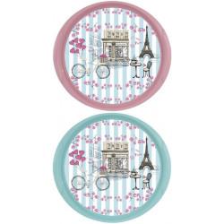 Поднос для сервировки Paris Blue&Pink Mix HEREVIN 161061-806