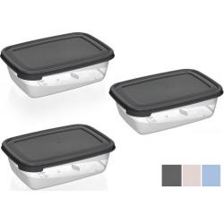 Набор контейнер 3 предметов/600мл Bager MIX Cook&Keep BG-616