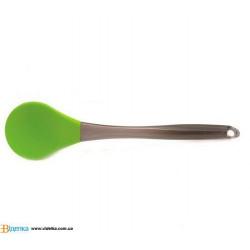 Ложка BERGHOFF 1100900 силиконовая для салата 29,5 см. зеленая (1100891)