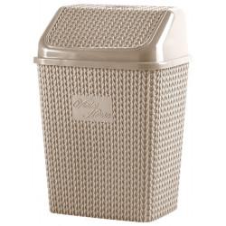 Корзина для мусора 10 л Violet House 0026 Виолетта CAPPUCHINO 10 л