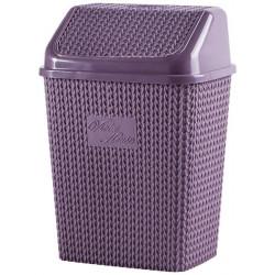 Корзина для мусора 10 л Violet House 0026 Виолетта PLUM 10 л