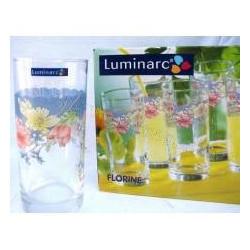 Набор стаканов высоких 270мл 6шт Luminarc Florine C7003