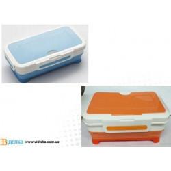 Емкость для продуктов 26,7х14,2х5,5см Vincent VC-1337 mix