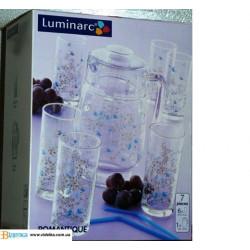 Набор для воды 7пр Luminarc Romantiquie C0828