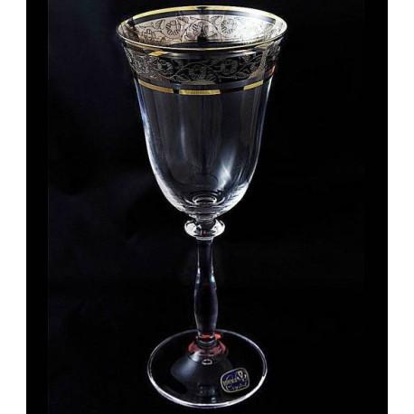 Бокалы для вина Bohemia Angela (43249) 250 мл-6шт