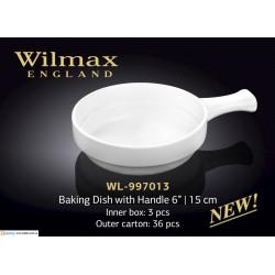 Форма для запекания с ручкой 15см Wilmax WL-997013