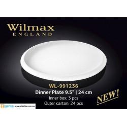 Тарелка обеденная 24см Wilmax WL-991236