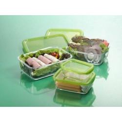Luminarc Keep'n'Box Набор емкостей д-пищи прямоугольных (370мл+760мл+1160мл)
