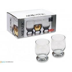 Набор стаканов низких 225 мл 6шт Pasabahce Aquatic 42973