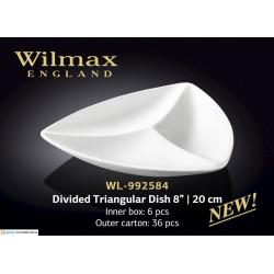 Менажница треугольная 20см Wilmax WL-992584
