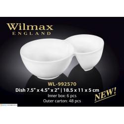 Емкость для закусок 18,5x11x5см Wilmax WL-992570
