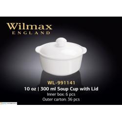 Бульонница с крышкой 300мл Wilmax WL-991141