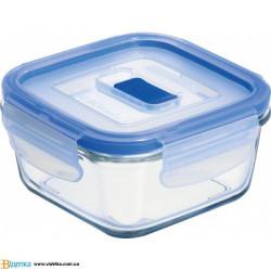 Емкость для еды квадратная 380мл Luminarс Pure Box Active J5627